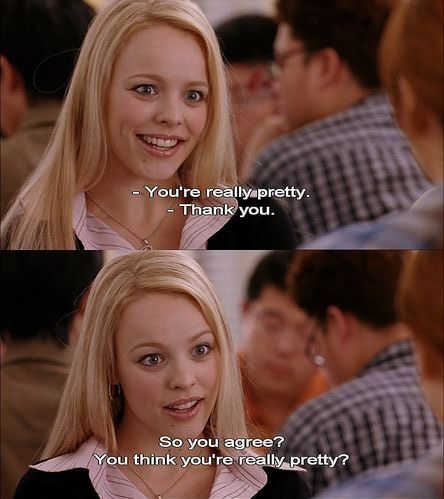 Mean girls self confidence pretty quote mental health